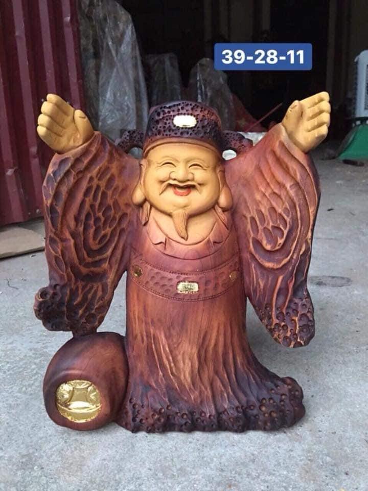 tượng thần tài nghênh hỷ phong thủy