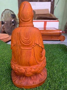tượng quan âm bồ tát gỗ hương